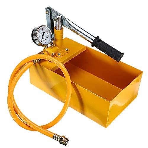 QWERTOUY 25KG handmatige hydraulische waterdruk test pijpleiding Tester pomp meetinstrument voor waterdruk testen pomp metalen machine