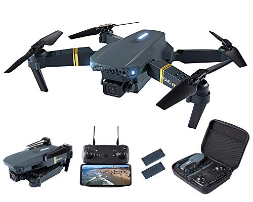 CHUBORY Drone for Beginners 40+ mins Long Flight Time WiFI FPV Drones with Camera for Adults-Kids 1080P HD 120°Wide-Angle Drone Quadcopter with Optical Flow Positioning,Follow me,3D Flip (2 Batteries)