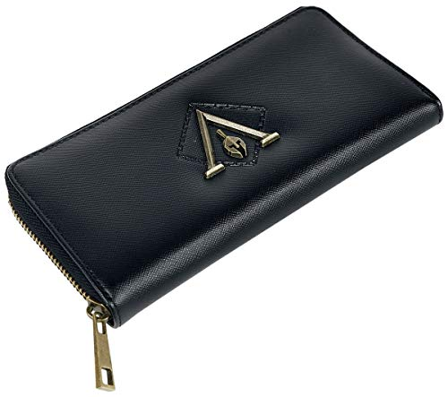 Assassin's Creed Odyssey Geldbörse schwarz, Schwarz, Standard