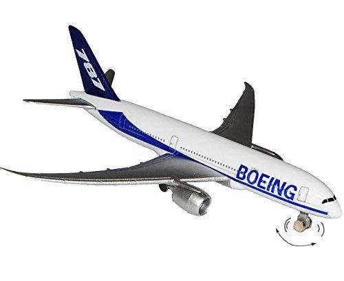 alles-meine.de GmbH Flugzeug aus Metall -  Boeing 787 / Dreamliner  - bewegliche Räder - Maßstab 1:420 - 13,5 cm - Flugzeuge / Düsenjet - Düsenflieger - 787-8 - zum Sammeln & S..