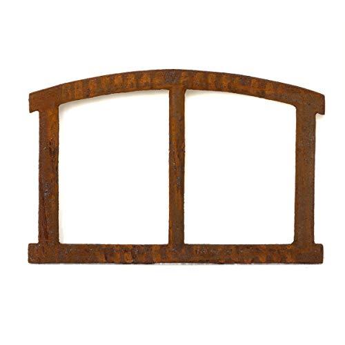 Antikas Eisenfenster | Gusseisenfenster ca. 40 x 28 cm | Auch als Stallfenster & Garagenfenster