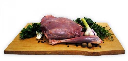 Rehkeule mit Knochen Gewicht 1,60kg