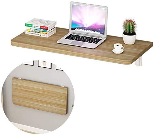 2,5 cm Dicke MDF-Wandschreibtisch, ausklappbare Cabrio-Werkbank Perfekte Ergänzung für kleine Räume, Beige, 70 * 30 * 2,5 cm
