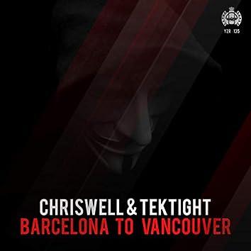 Barcelona to Vancouver
