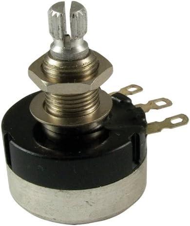 Potentiometer - 500K Audio 24mm Sealed Knurled Translated Genuine Free Shipping Shaft