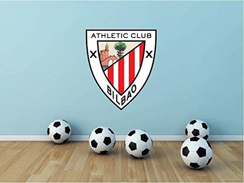 lunaprint Athletic Bilbao FC Spain Soccer Football Sport Home Decor Art Wall Vinyl Sticker 63 x 53 cm