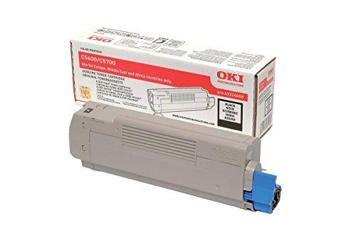 Oki Lasertoner für C5600/C5700/43324408 schwarz C5600BK