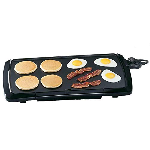 Buy Discount 10.5x20-inch Cool Touch Electric Griddle, Black