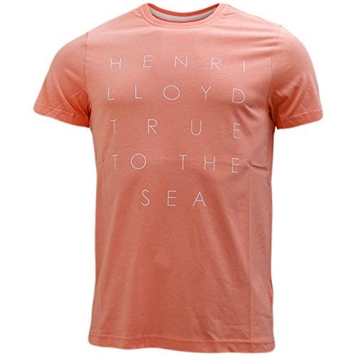 Henri Lloyd Keadby Salmon True To The Sea T-Shirt-MEDIUM