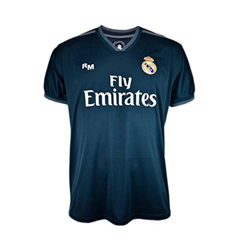 Camiseta 2ª equipación Navy Real Madrid 2019-20 - Replica Oficial con Licencia...