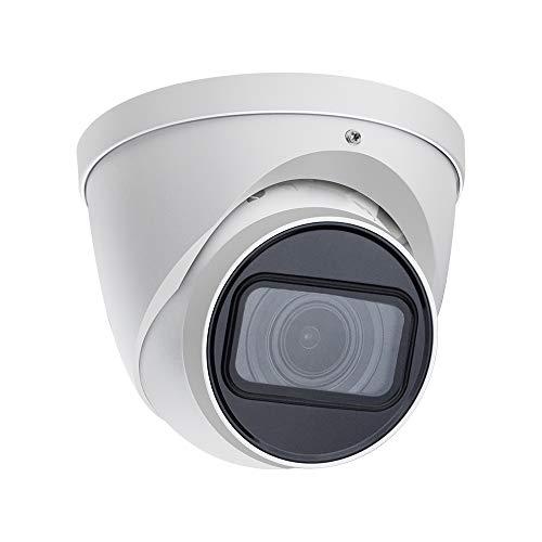 8MP Starlight POE IP Camera OEM IPC-HDW2831T-ZS-S2, 2.7mm–13.5mm,5X Vari-Focal Zoom,60m Smart IR Eyeball Camera, Smart Detection,H.265+, Supports max. 256 GB Micro SD Card,IP67 Waterproof