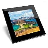 Posavasos de cristal Awesome – Isla Bartolomé Galápagos Ecuador de calidad brillante posavasos / protección de mesa para cualquier tipo de mesa #44226