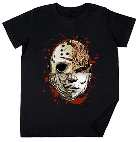 Vendax Horror TRITURAR Niños Chicos Chicas Unisexo Camiseta Negro