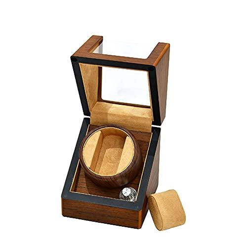 Enrollador de reloj de madera ultra silencioso Enrollador de reloj Caja de presentación Enrollador de reloj Caja de presentación Enrollador de reloj Rotación automática Enrollador automático de reloj