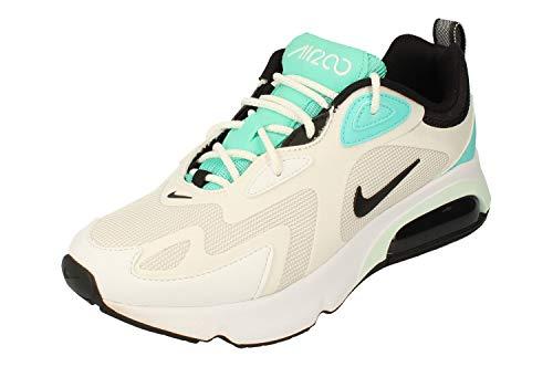 Nike Damen W AIR MAX 200 Laufschuh, White Black Platinum Tint White, 39 EU