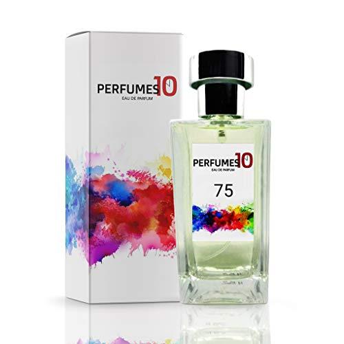 Fragancia nº75 - Elixir de Clinik - Perfume de mujer barato en oferta - Eau de Parfum con Vaporizador 50ml y 100ml - Equivalencia de Alta concentración y duración (50 ml)
