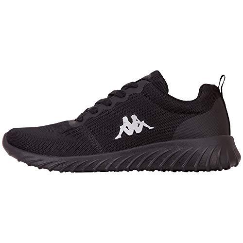 Kappa Unisex CES Sneaker, 1111 Black, 42 EU
