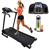 Nero Sports Bluetooth Treadmill Adjustable Incline Folding Running Machine with built in speakers