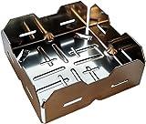 Cesta de encendido para chimenea: la cesta de pellets turbo para tu estufa. Enciéndela con pellets de madera en lugar de leña. Con ayuda de apilamiento de generación 4.0 (1 unidad).