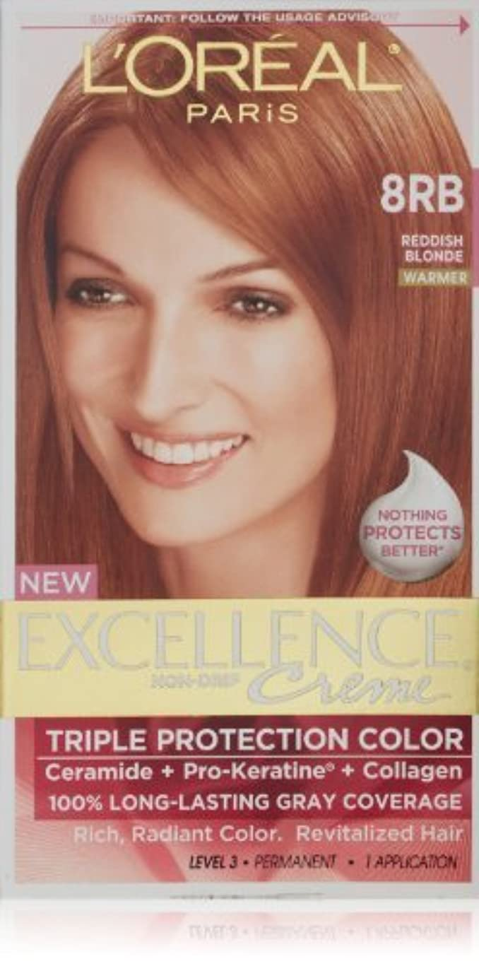 原理因子ランチExcellence Medium Reddish Blonde by L'Oreal Paris Hair Color [並行輸入品]