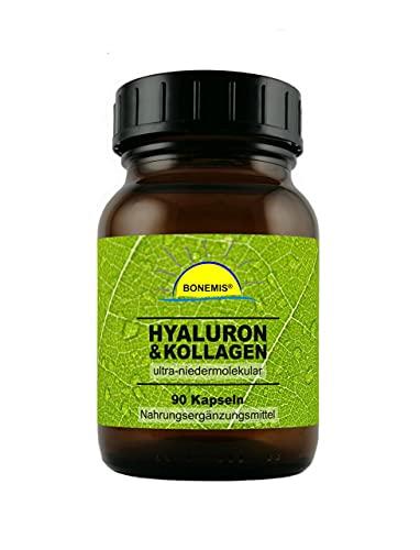 Bonemis® Hyaluron & Kollagen, ultra-niedermolekular, 90 Kapseln à 330 mg