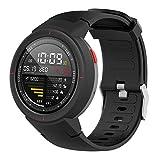 Angersi Correa Compatible con Amazfit Verge A1801 Correa de Reloj,Silicona Suave Sport Correa Reemplazo Pulsera para Amazfit Verge A1801 Reloj Inteligente de Fitness