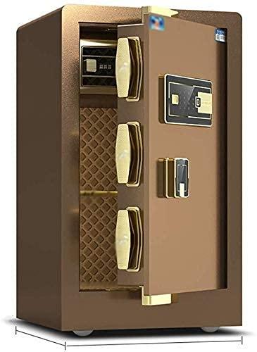 PIVFEDQX Cajas Fuertes para gabinetes, Caja Fuerte para el hogar, ha Sido aprobada por el Seguro, Cerradura eléctrica con Perno, Cajas Fuertes para gabinetes con Pantalla Digital
