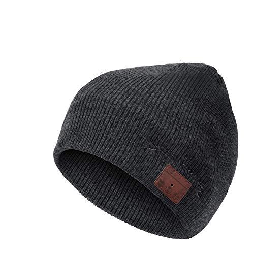 ADLOASHLOU Bluetooth Beanie Wireless Hat, HD Stereo Bluetooth 5.0 Wireless Beanie, Mujeres...
