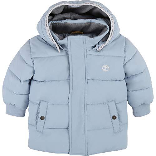 Timberland Daunenjacke mit Kapuze, wasserabweisend, Layette Gr. 9 Monate , azurblau