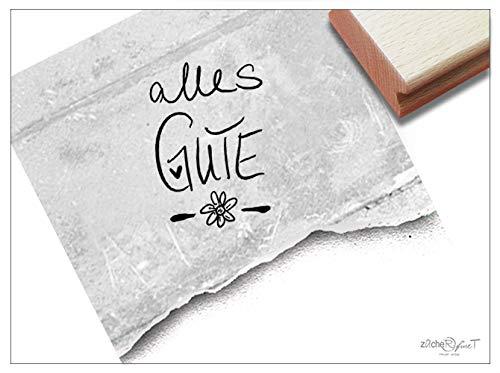 ZAcheR-fineT Stempel, tekst stempel, felicitatie, verjaardag, huwelijk, eerste schooldag, kaarten, cadeauhangers