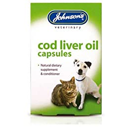 Pet-Essentials Johnsons Cod Liver Oil Capsules (Eco-Friendly Packaging)