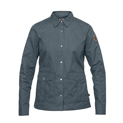 FJÄLLRÄVEN Damen Greenland Shirt Jacket W, Dusk, XXS
