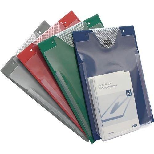 Eichner Organisation GmbH & Co. KG Auftragstasche m. Klettverschluss u. Kordel DIN A4 grün VE 10 St.