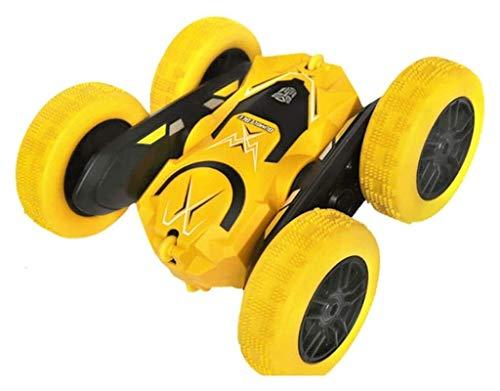 YYQIANG Truco de doble cara rodando niños de juguete eléctrico para niños camión volquete de doble cara padre-niño interactivo recreativo juguetes control remoto buggy niños cumpleaños camión de jugue