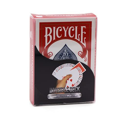 Bicycle - Invisible deck - Supreme Line Red