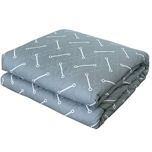 LMXJB Dubbel afneembaar quilten gekamd katoen elektrisch verwarmd deken met gebruik van verwarmingskabel voor de infrarood koolstofvezel voor het matras verwarmt onder het dekbed, 180 x 135 cm
