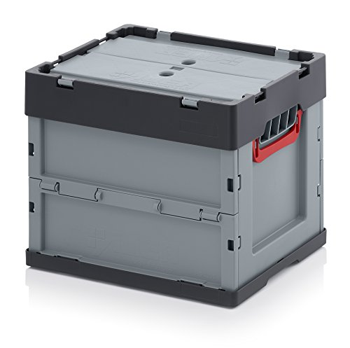 Profi Faltbox 40 x 30 x 32 mit Deckel inkl. Zollstock