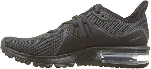 Nike Air Max Sequent 3 Womens Running Shoes (8 B(M) US, Black/Anthracite)