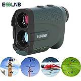 ESSLNB Telemetro Golf Laser Caza Impermeable 7X Telémetro Láser Golf con Pendiente Asta...