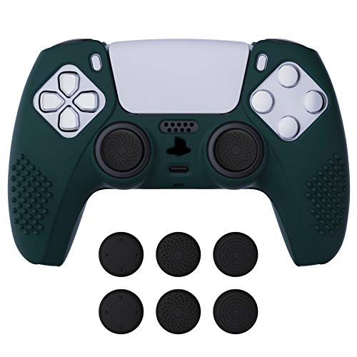 eXtremeRate PlayVital Racing Green 3D Studded...