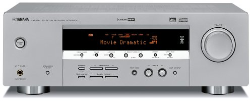 Yamaha HTR 5930SL 5.1 Channel Digital Home Theater Receiver, Silver (Discontinued by Manufacturer)
