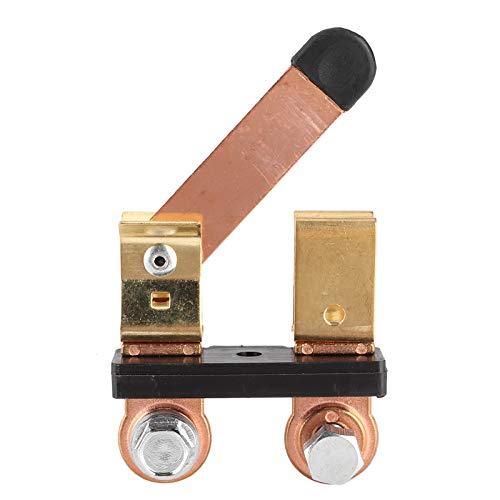 Interruptor de Poste Lateral Interruptor de desconexión de batería Resistente al óxido Hierro Conveniente y latón Macizo Alta eficiencia Resistente a la corrosión Fábrica para Taller de