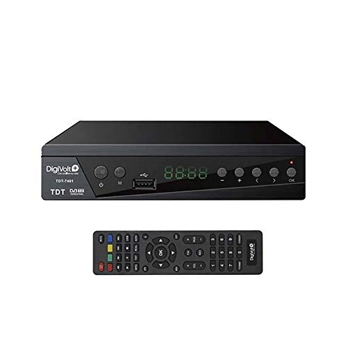 Digivolt TDT HD e TDT 2 ad alta definizione USB Rec TDT-7401