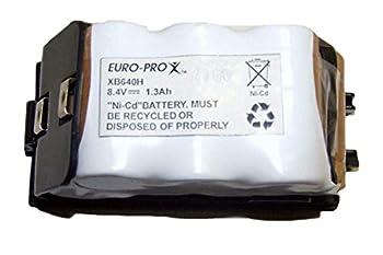 Euro-Pro 8.4V 1.3Ah  1300mA  Battery XB640H for Shark UV647 UV640 UV617 Cordless Vacuum Genuine