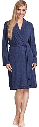 L&L Bata Corta Mujer LL0004 Azul Oscuro