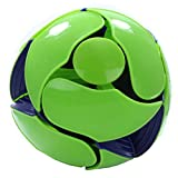 Hoberman Switch Pitch 4 Inch Color-Flipping Ball Green to Blue