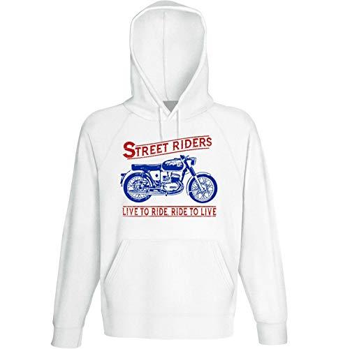 Teesandengines Bultaco Mercurio 155 Street Riders Sudadera con Capucha