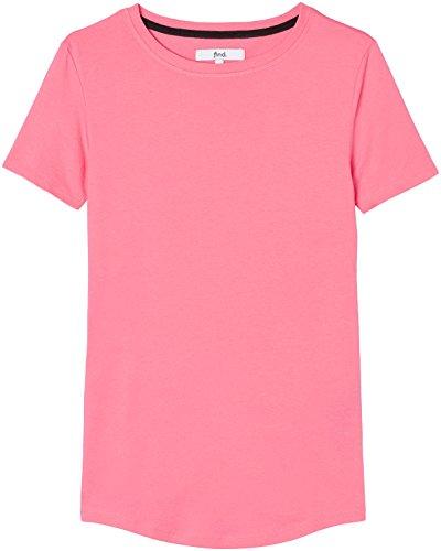 find. Damen T-Shirt Damen , Rosa (Pink Bubblegum) , 38 (Herstellergröße: Medium)