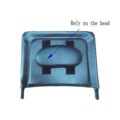 JYTB Reposacabezas Universal para Silla de Ruedas Accesorios de Alta reclinación de Cuero para Silla de Ruedas Que realzan el reposacabezas Impermeable del Respaldo