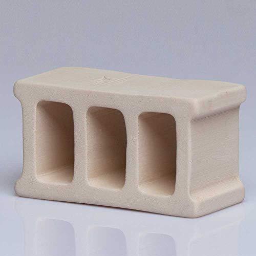 DIMIKRO EM Keramik Ziegel 180g - Wasserenergetisierung und Algenreduktion für Teiche & Aquarien mit Effektiven Mikroorganismen
